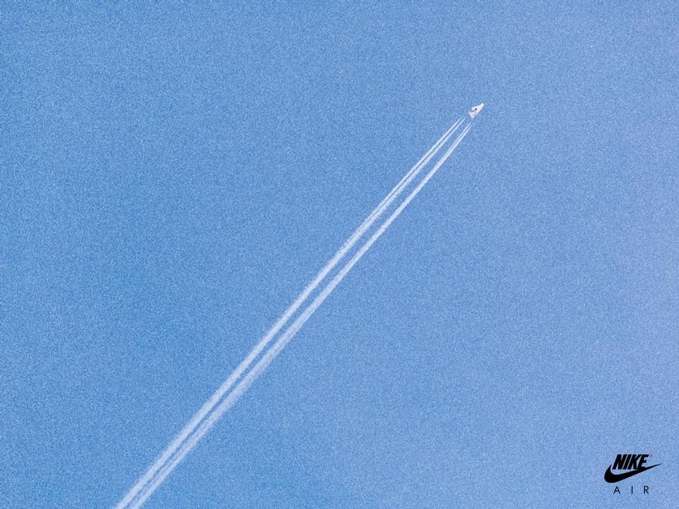 Nike Air plane