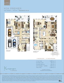 Kaupapa floor plans 60.20