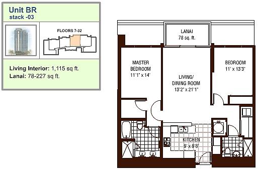 Watermark floor plan BR