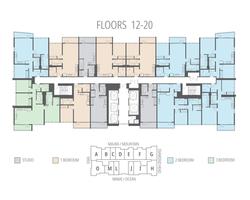 Floors 12 - 20