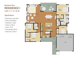 Kapiwai Residence 1 Floor plan
