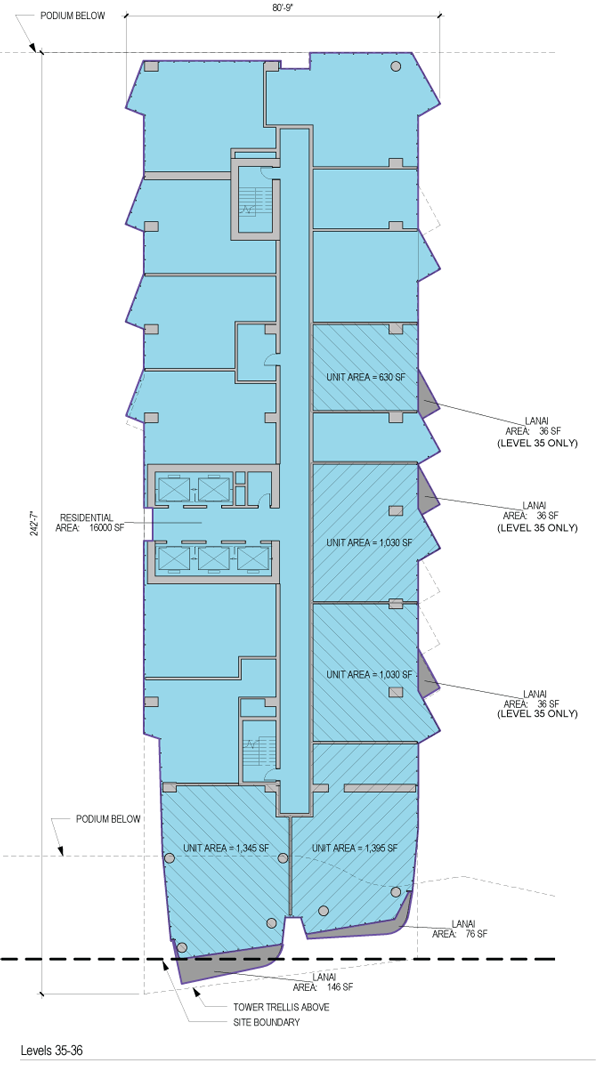 Ae'o Floorplate 35-36