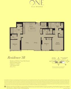 ONE Ala Moana Blvd. Penthouse 3B
