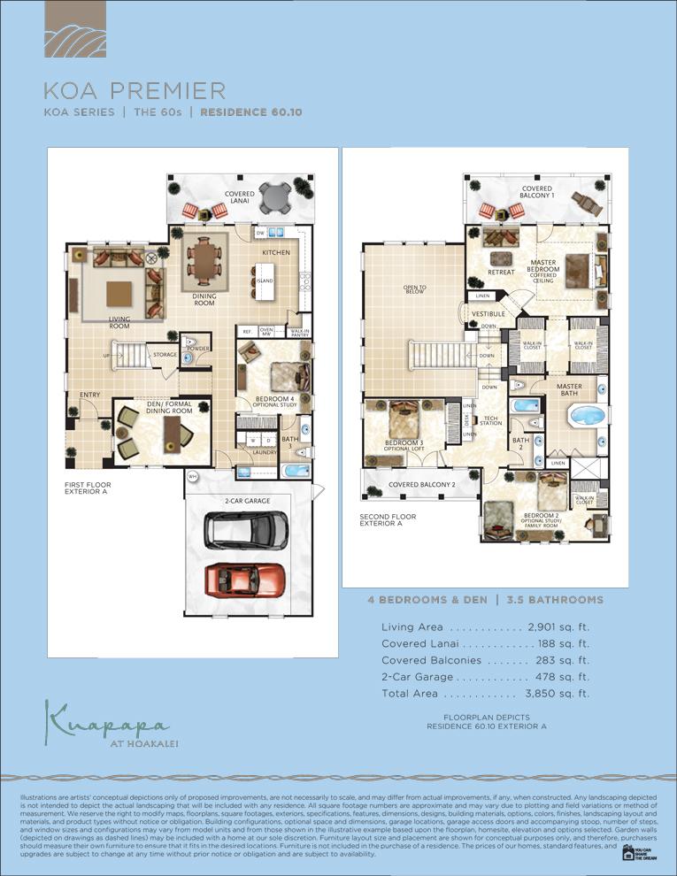 Kuapapa floor plan 60.10