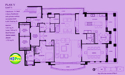 Courtyard at Punahou unit 5-1
