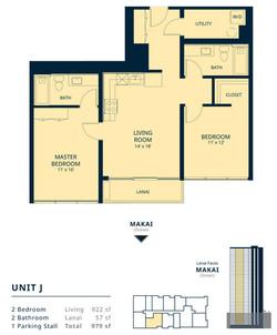 Kapiolani Residence unit J