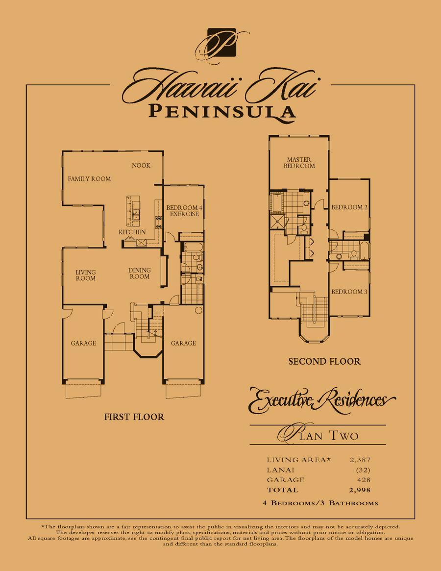 Executive Residences - plan 2