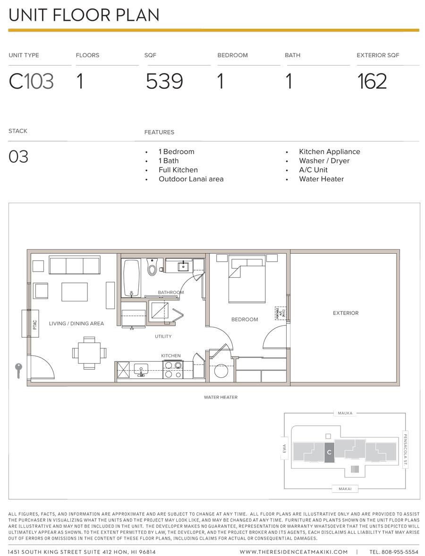 Residence at Makiki C1