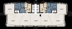 Floors 18-28 Floor Plate