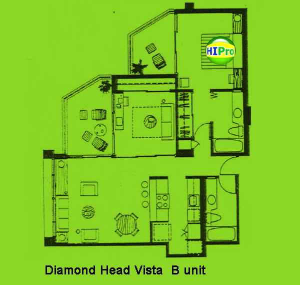 Diamond Head Vista unit B