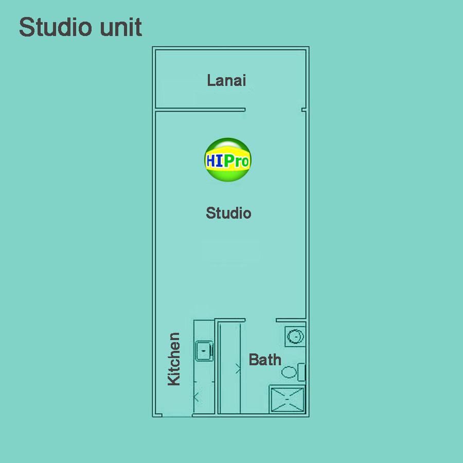 Colony Surf Original Studio unit