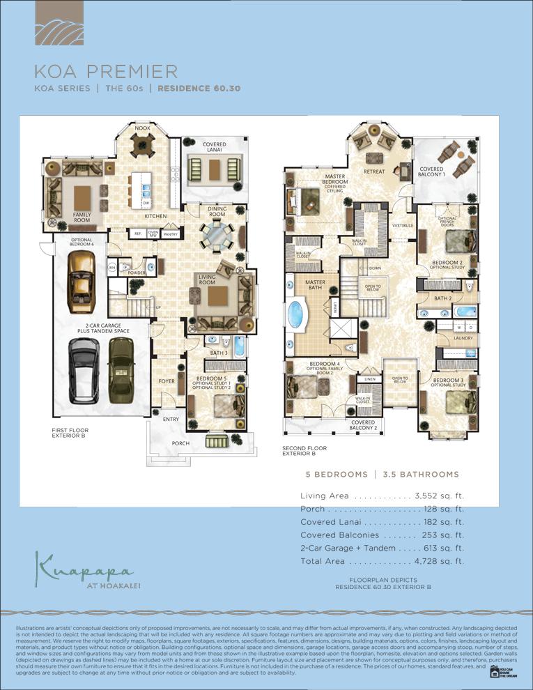 Kaupapa floor plans 60.30