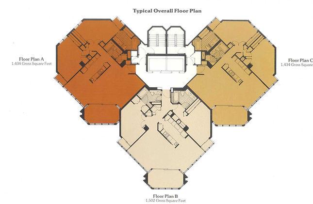 Condo floorplate - floorplans