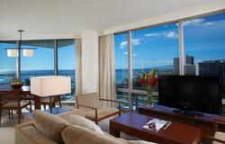 Trump Waikiki - Living Dining View
