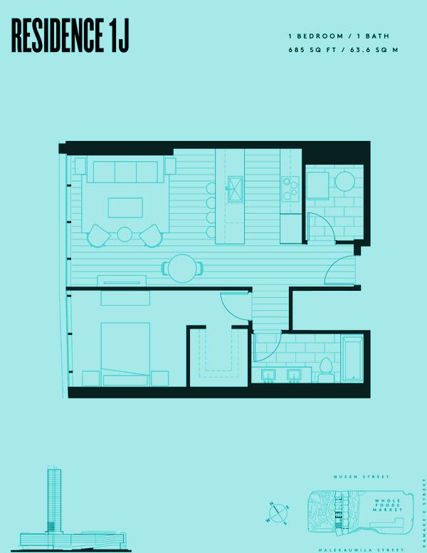 Aeʻo Residence 1J