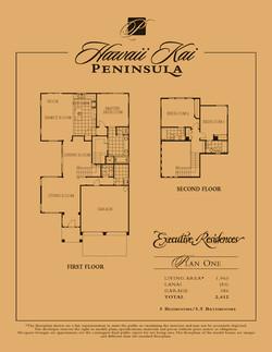 Executive Residences - plan 1