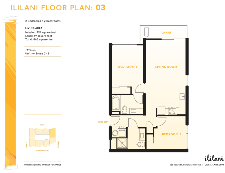 Ililani Floor Plan 03