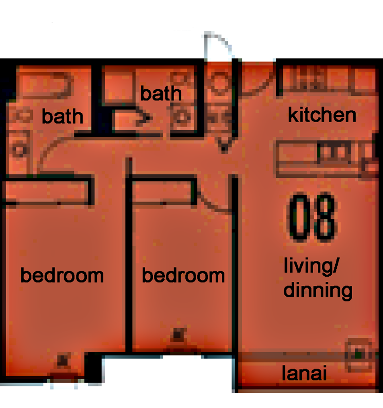 Holomua Floor plan 8