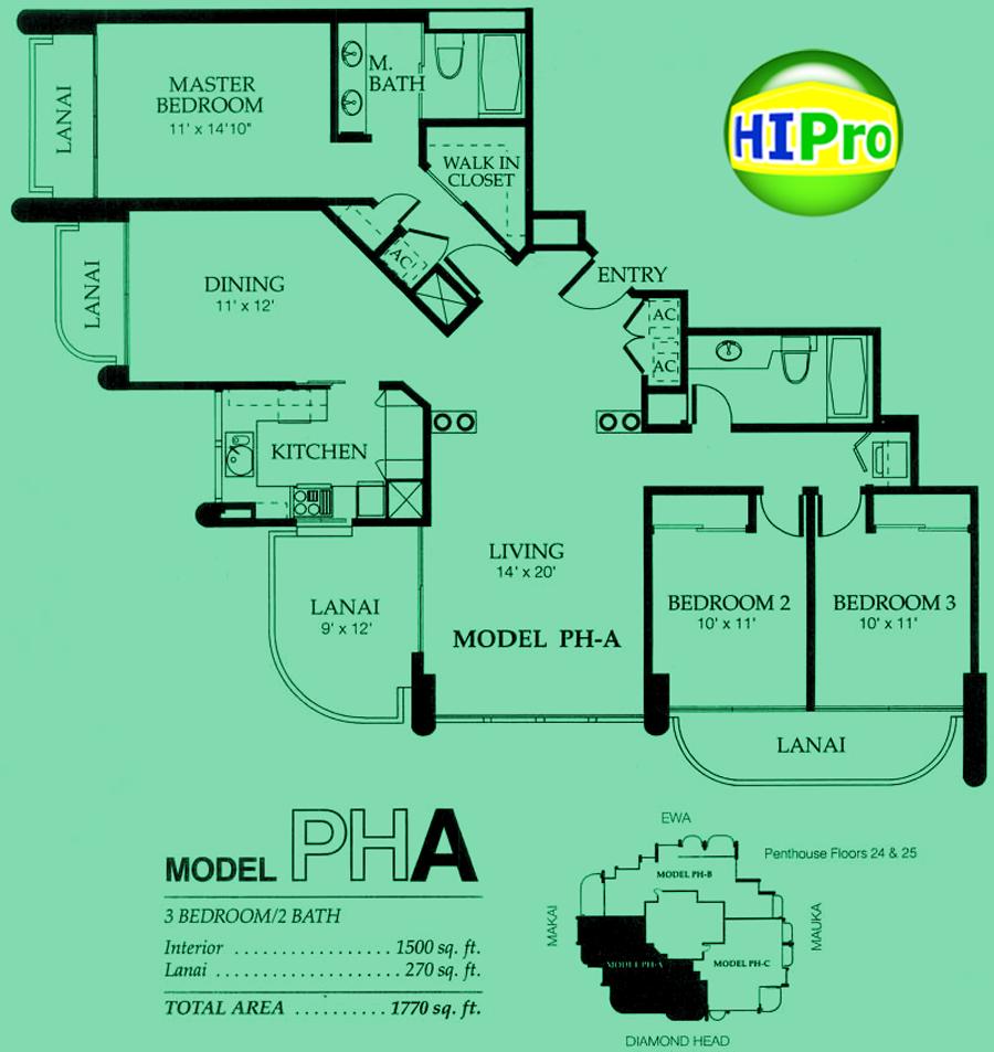 Nuuanu Parkside Penthouse A unit