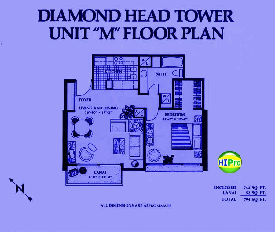 Diamond Head Tower unit M