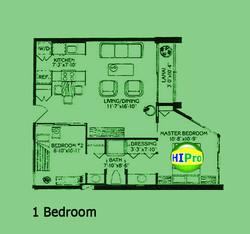 Monte Vista 1 bedroom