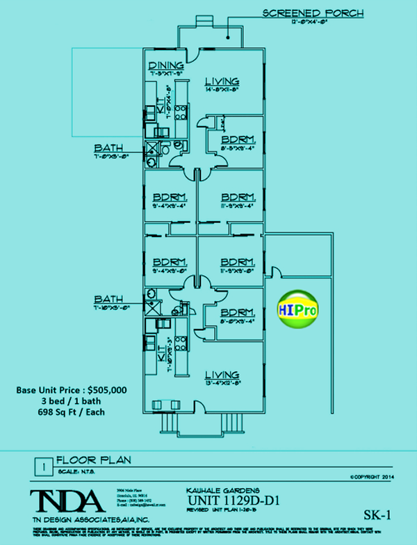 Kauhale-Gardens - units 1129D-D1