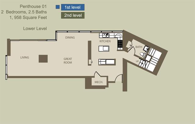 Penthouse 1 Lev.1