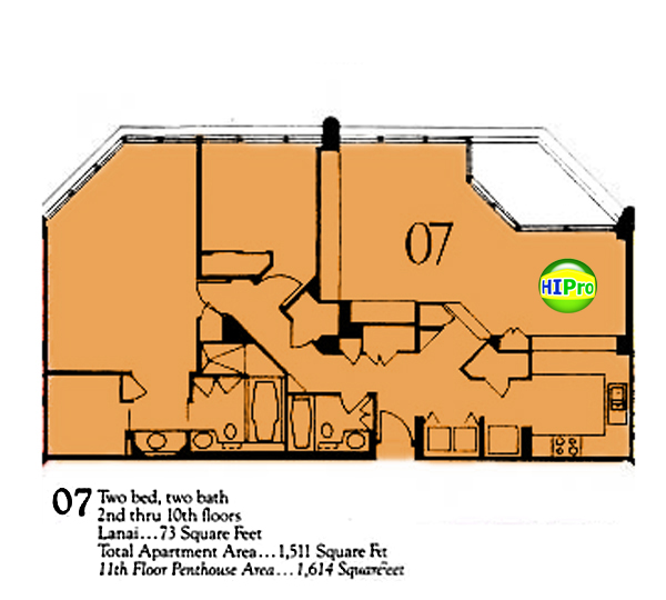 Punahou Cliffs floor plan 07