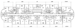 Floors 11-14,16-17,26