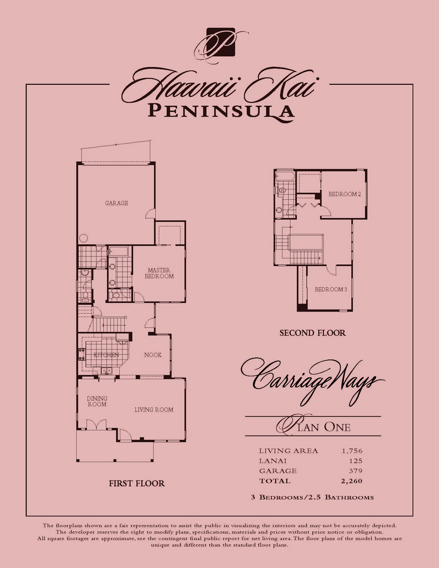 Carriage Ways - plan 1