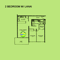 Kukui Plaza - 2 Bedroom with Lanai