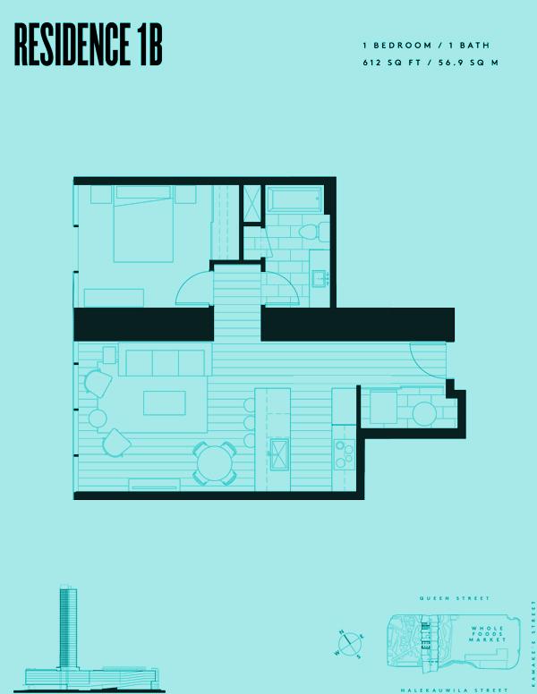 Aeʻo Residence 1B