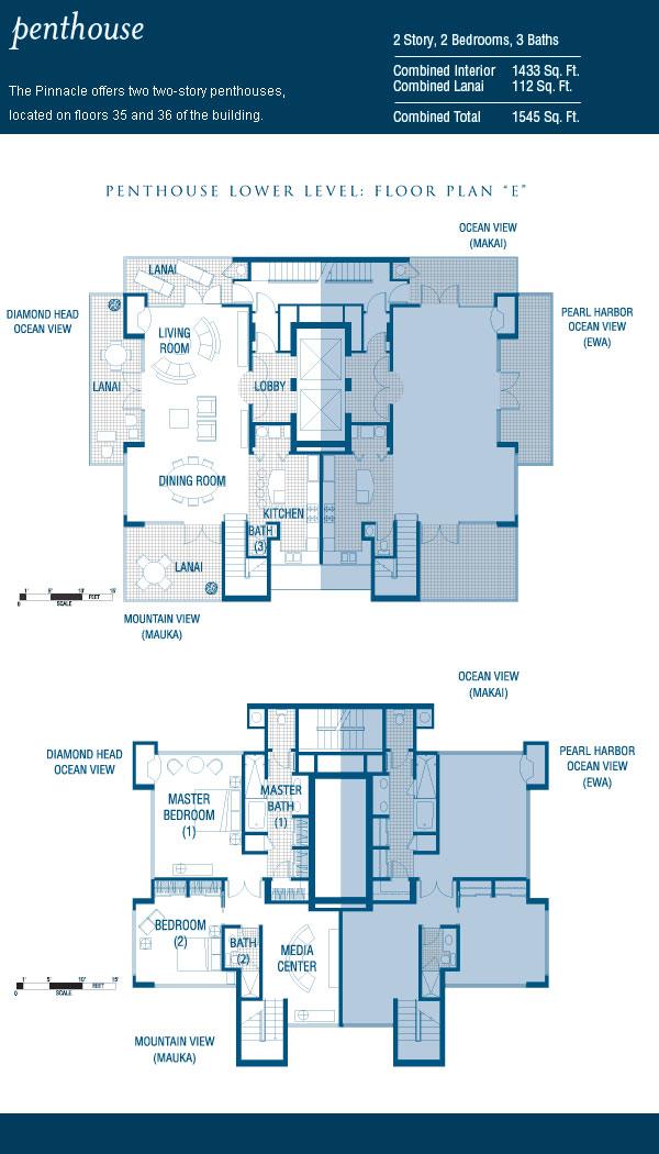Penthouse half floor