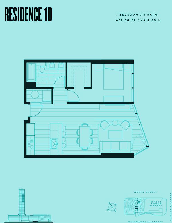 Aeʻo Residence 1D