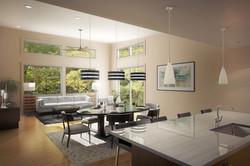 Residence 2 - Dinning / Living
