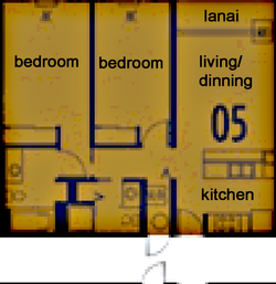 Holomua Floor plan 5