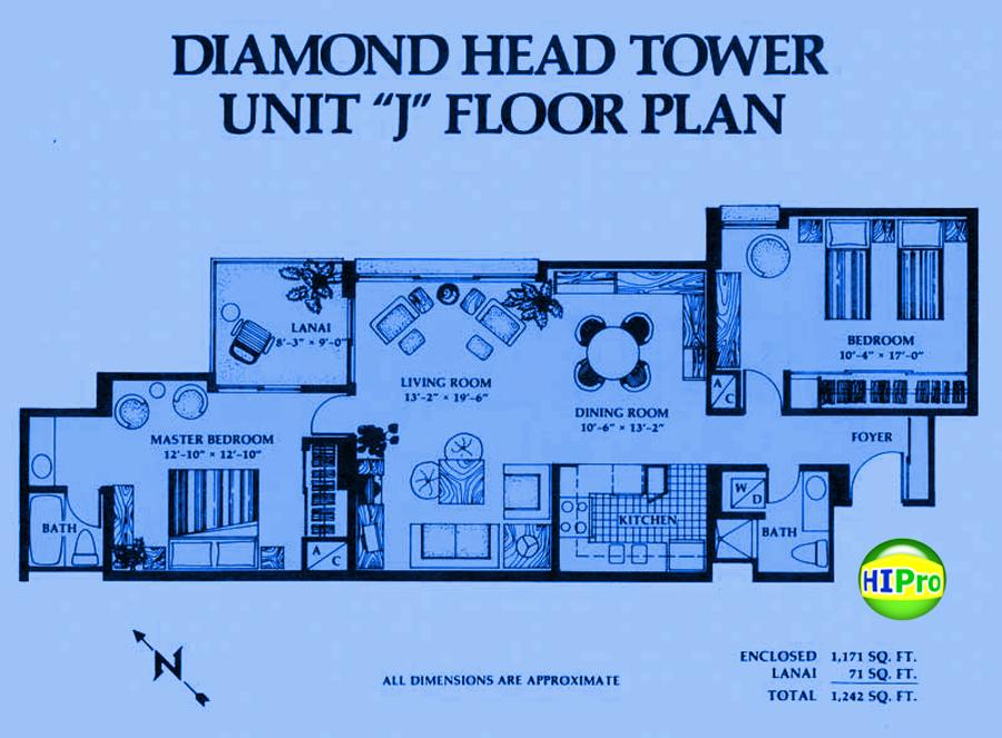 Diamond Head Tower unit J