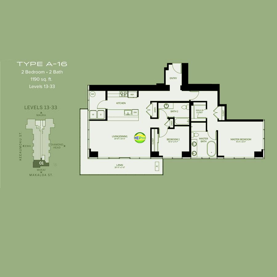 Azure Ala Moana type-A16