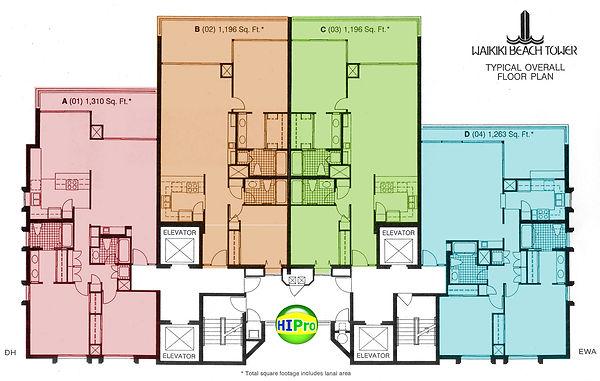 floor plans & floorplate