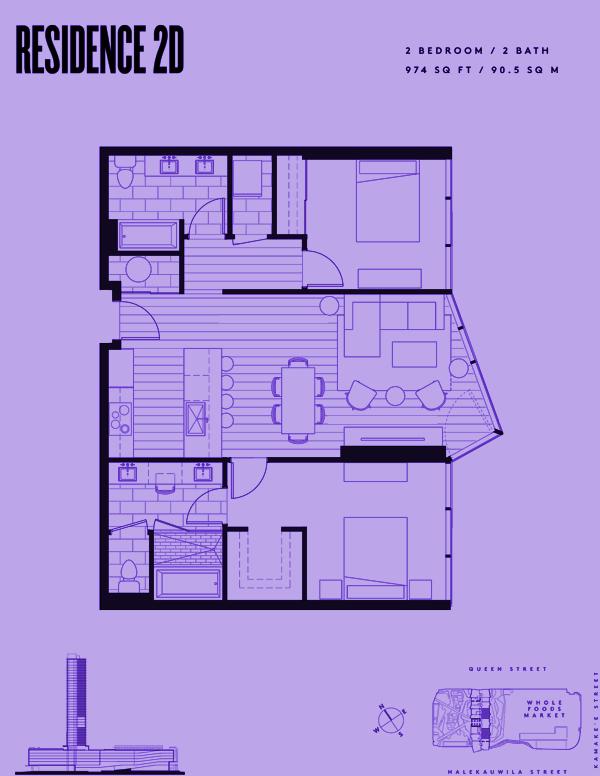 Aeʻo Residence 2D