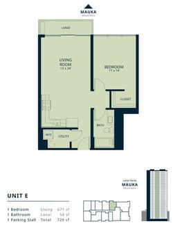Kapiolani Residence unit E