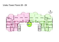 Uraku Floorplate 26 - 29