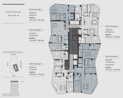 Floorplate 4 Penthouse Stack B