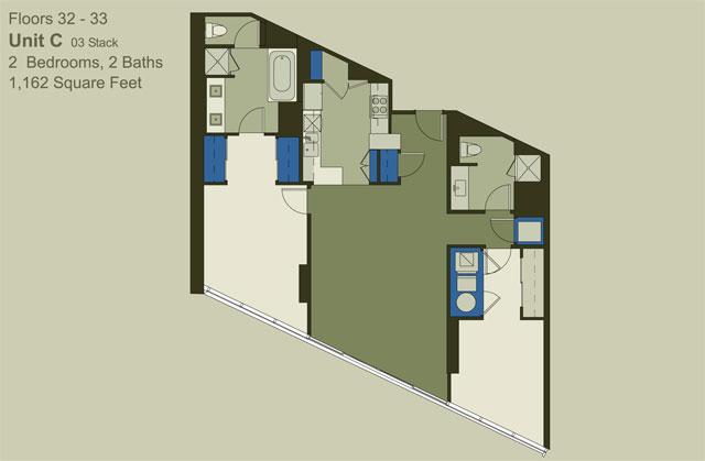 Floor 32-33 Unit C (03)