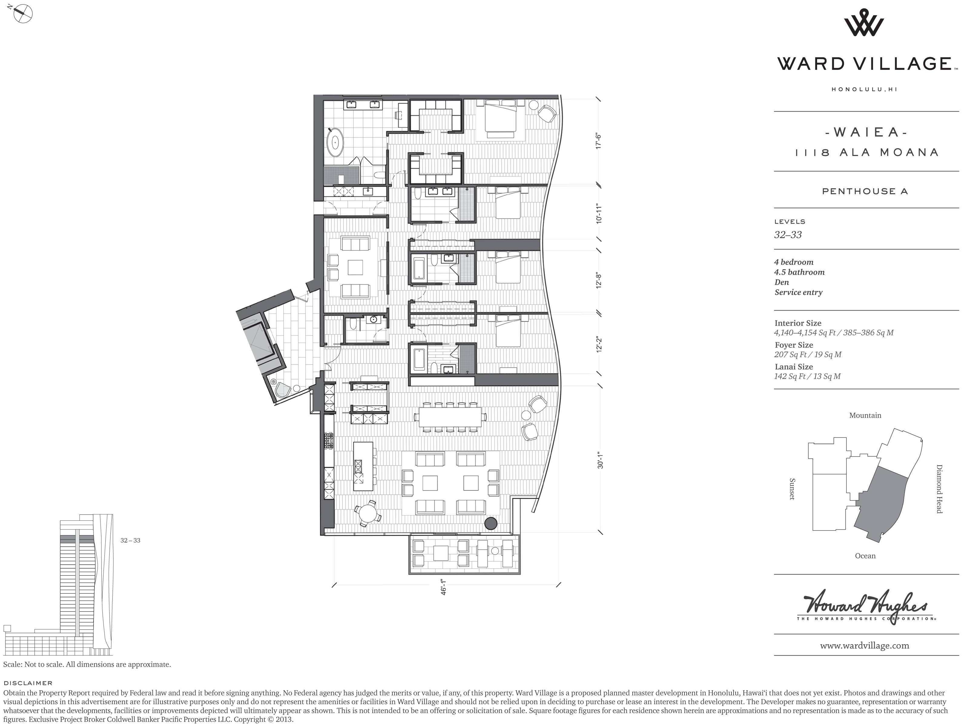 High Rise Penthouse A