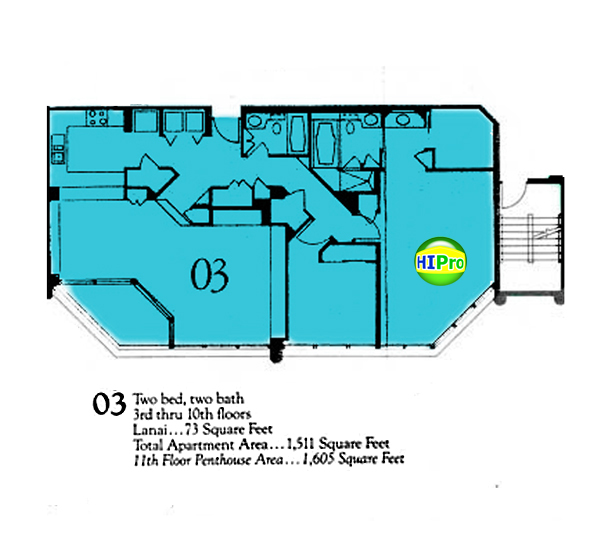 Punahou Cliffs floor plan 03