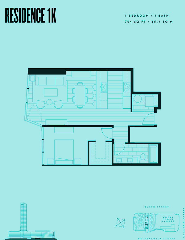 Aeʻo Residence 1K