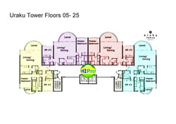 Uraku Floorplate 5 - 25