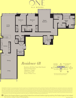 ONE Ala Moana Blvd. Penthouse 4B