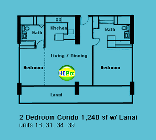 The Ilikai 2 Bedroom Condo